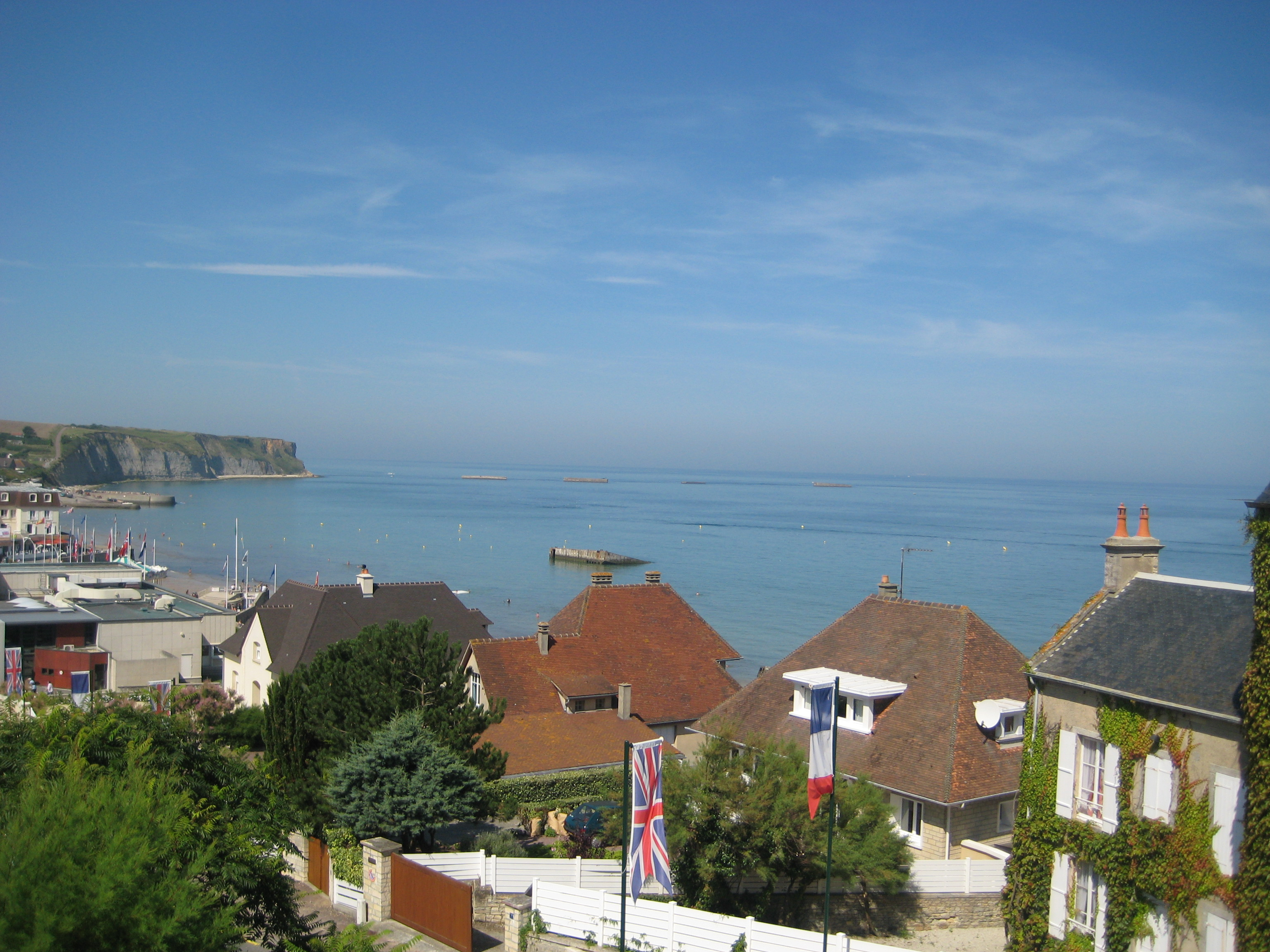 Normandie Overview Arromanches