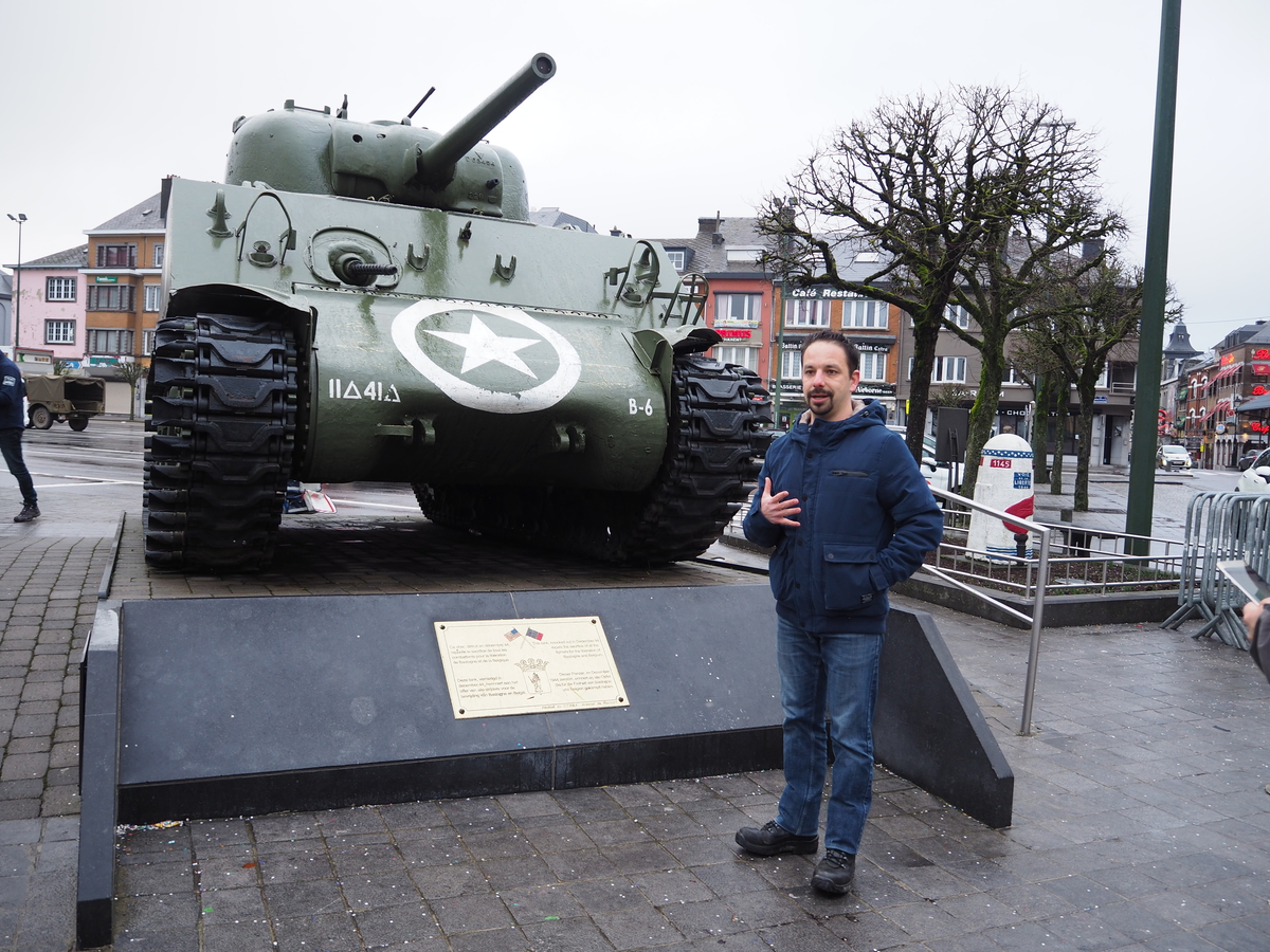 Bastogne Battlefield TourP2110236