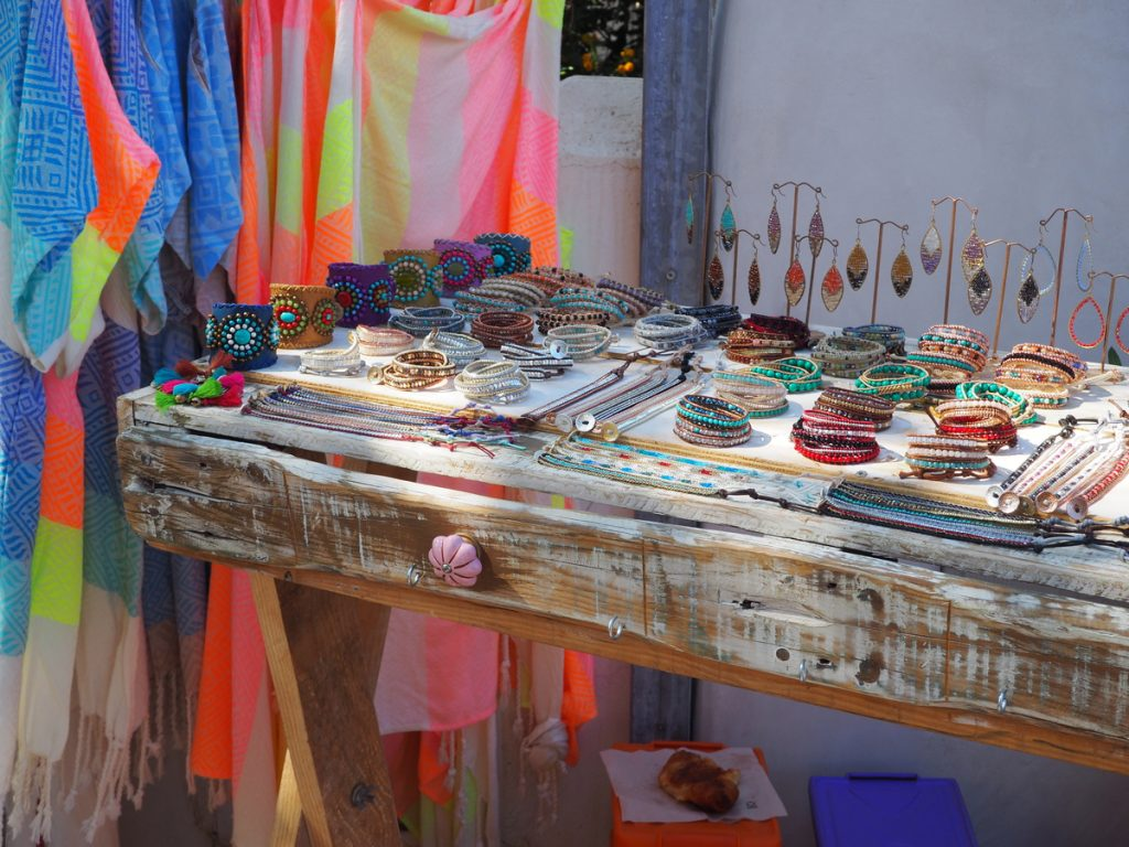 Hippiemarkt in San Joan