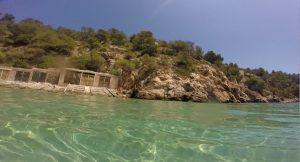 Stranden Baaien Ibiza
