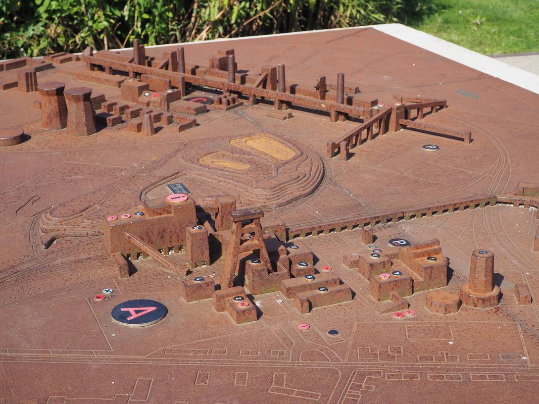 Zeche Zollverein Essen Unesco HeritageP9101962