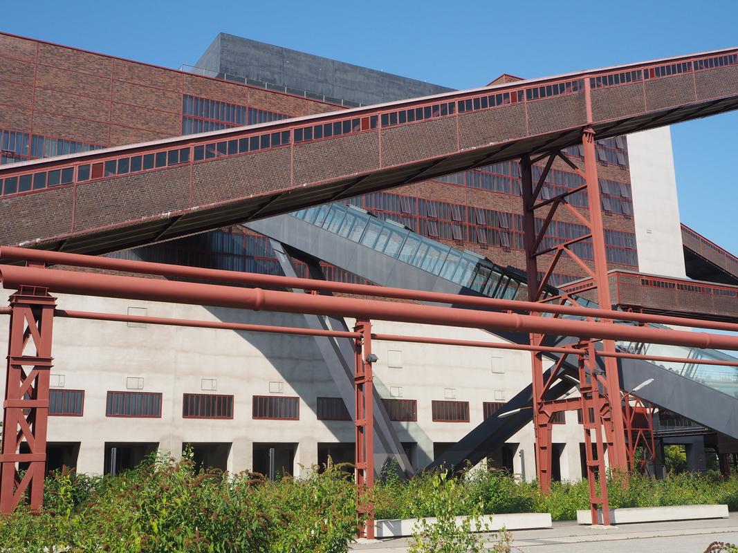Zeche Zollverein Essen Unesco HeritageP9101964