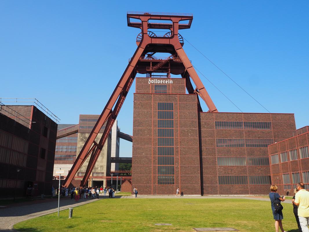 Zeche Zollverein Essen Unesco HeritageP9101972