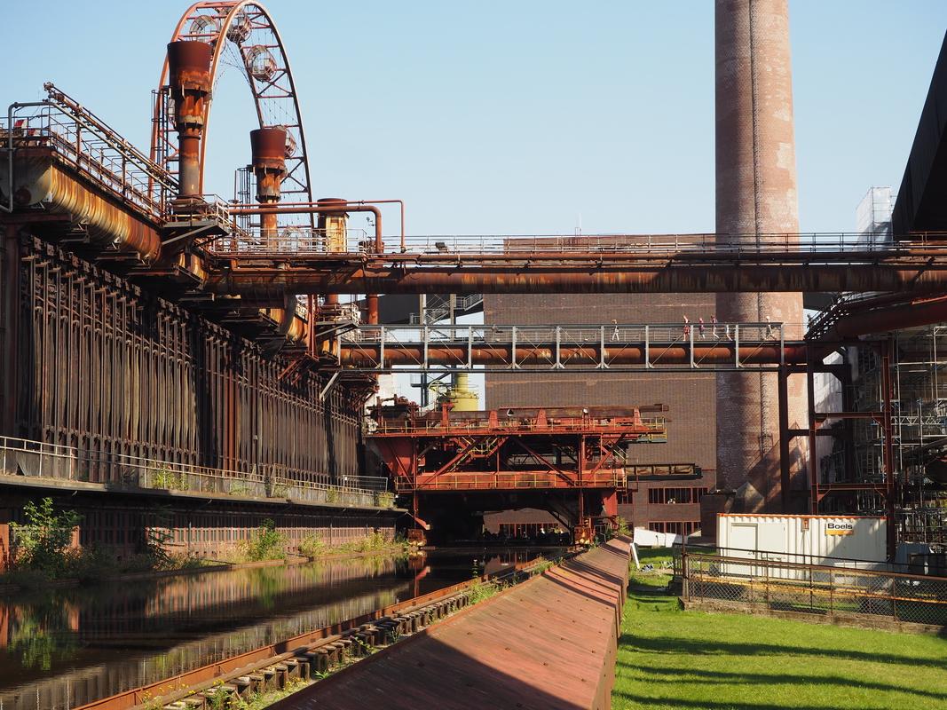 Zeche Zollverein Essen Unesco HeritageP9102003