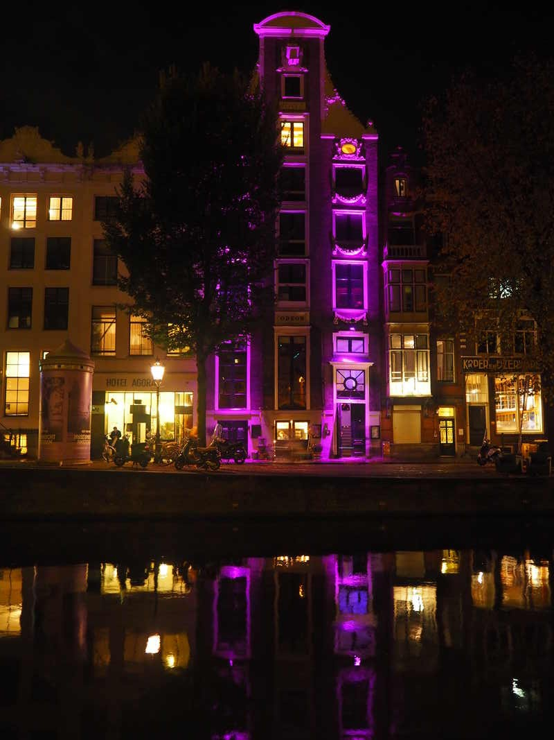 Amsterdam by night PB033903