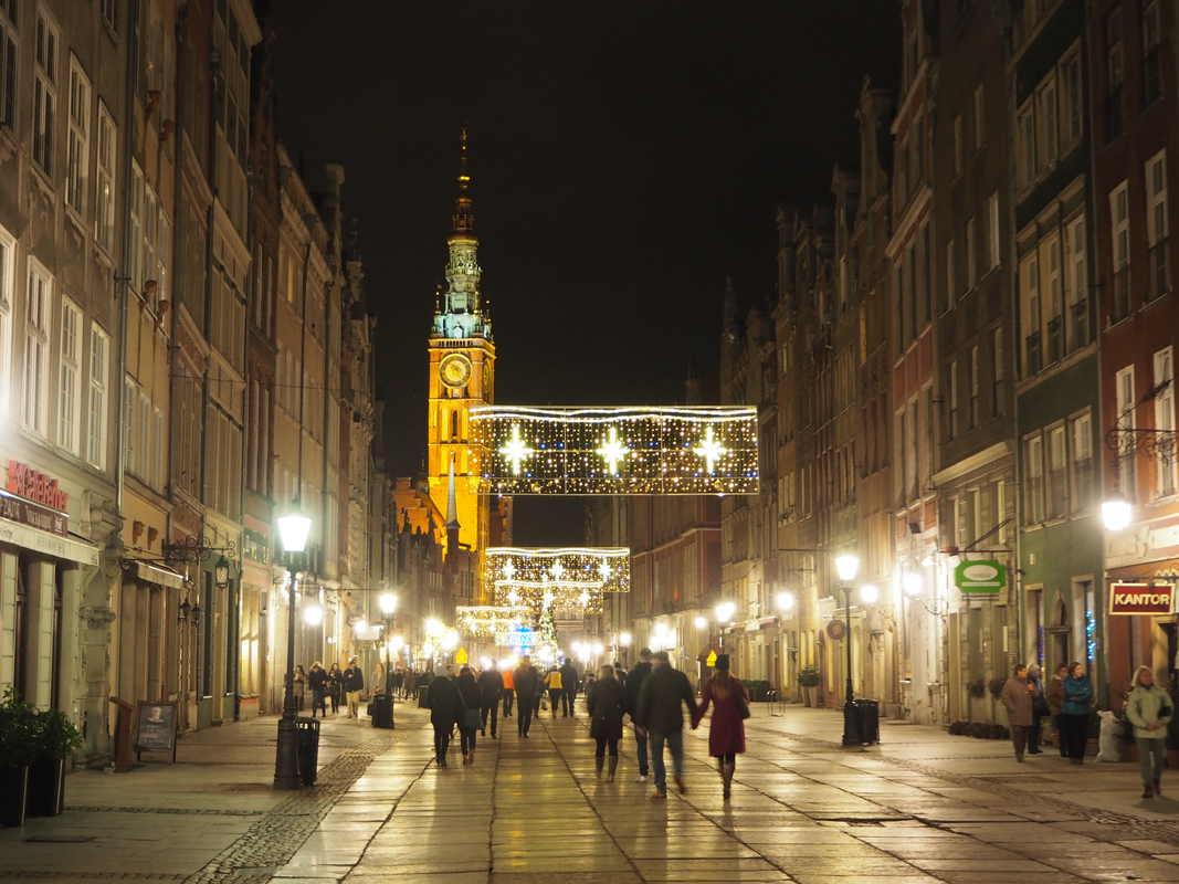 Gdansk in de winter