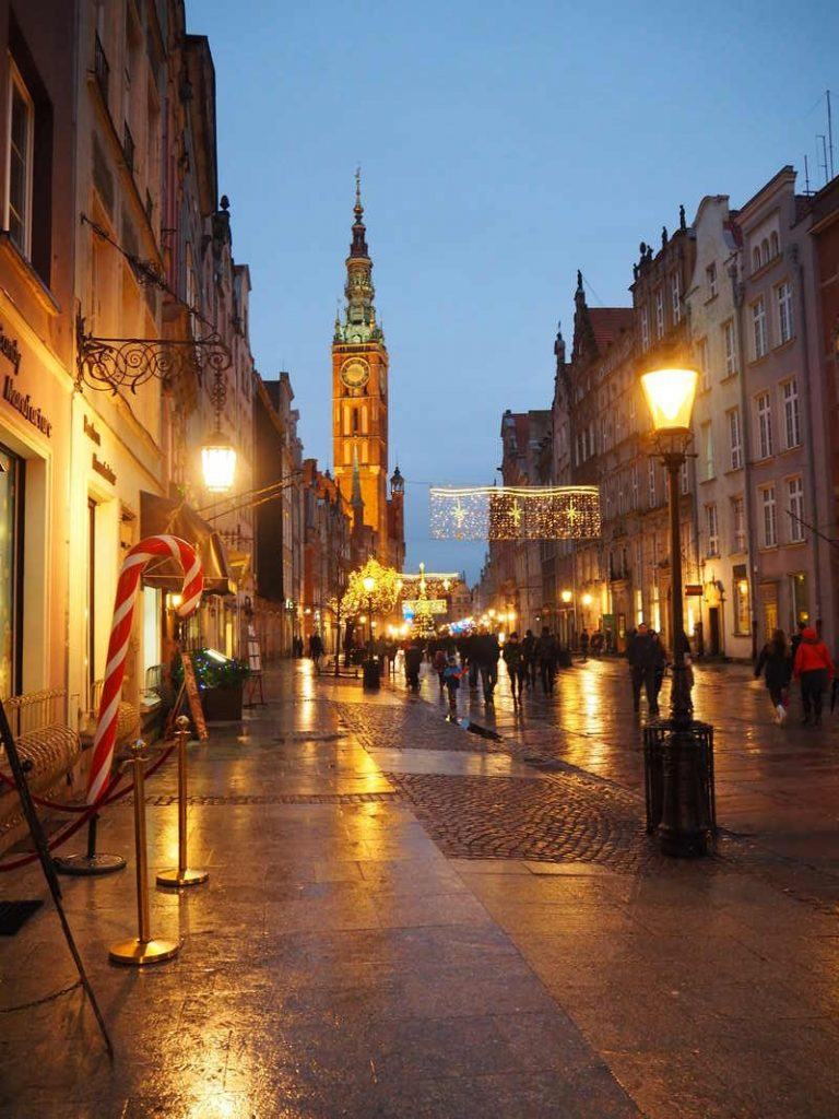 Gdansk in de winter