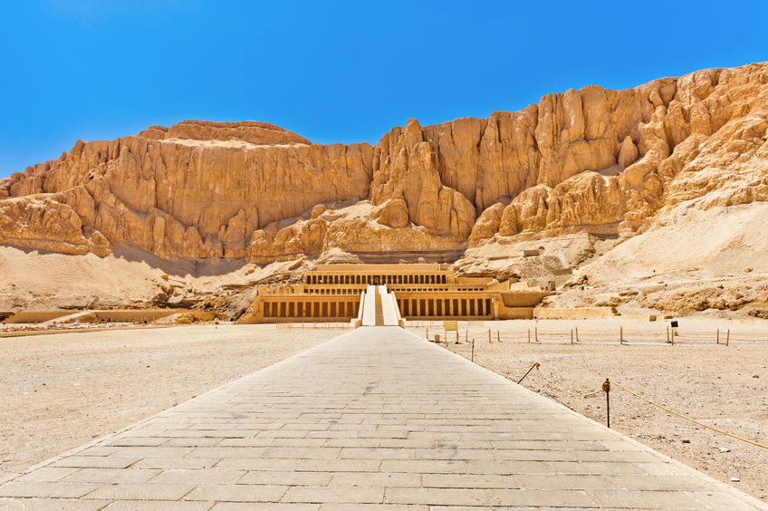 Monumenten in Luxor bezoeken Egypte tijdens rondreis